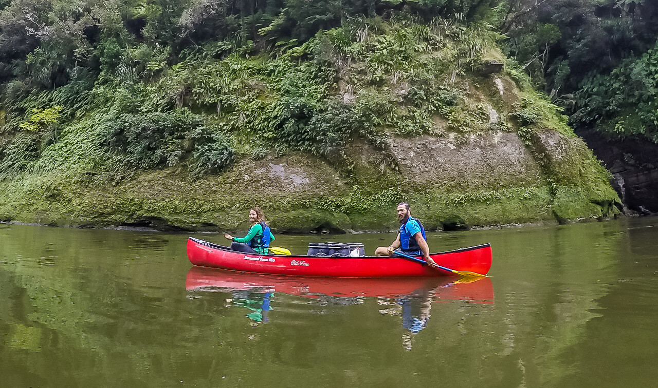 Couple in Canadian Canoe