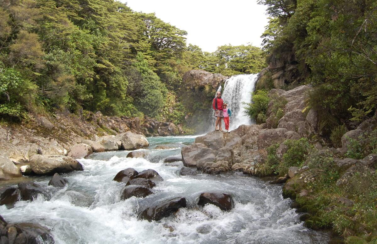 The Whakapapa River